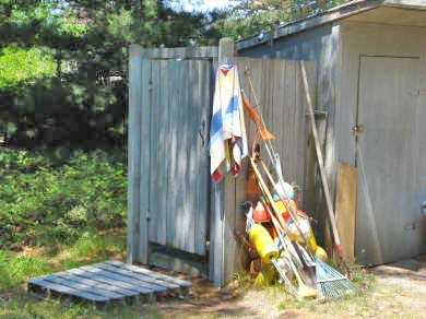 Wellfleet Cape Cod vacation rental - Outside shower