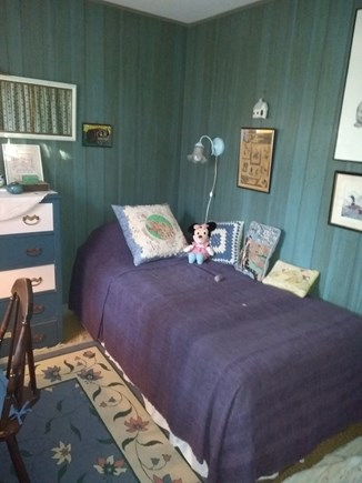 Wellfleet Cape Cod vacation rental - Blue Bedroom with table