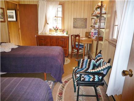 Wellfleet Cape Cod vacation rental - Master Bedroom with twin beds & 2 windows