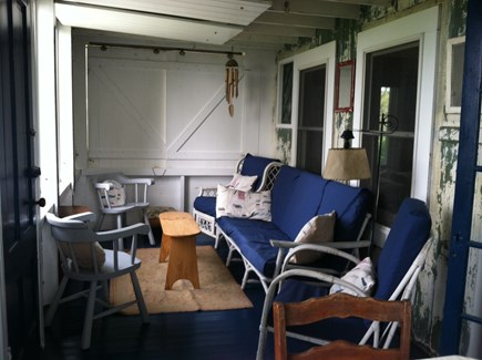 Provincetown Cape Cod vacation rental - Screened-in-porch, comfortable even on a rainy day