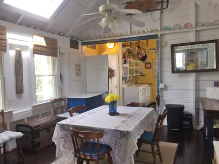 Provincetown, East End, Mayflo Cape Cod vacation rental - Dining Room looking towards the kitchen