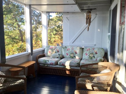 Provincetown, East End, Mayflo Cape Cod vacation rental - Screened-in Porch