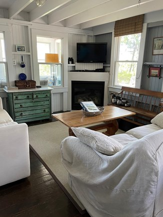 Provincetown, East End Cape Cod vacation rental - Living Room