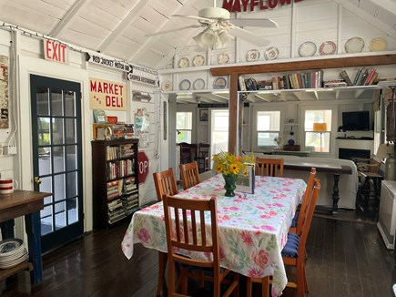 Provincetown, East End Cape Cod vacation rental - Dining Room