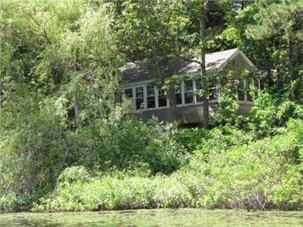 Eastham Cape Cod vacation rental - View of the cottage from the pond