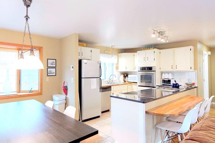 Wellfleet Cape Cod vacation rental - Full cook's kitchen with newer appliances.
