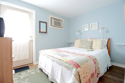 Wellfleet Cape Cod vacation rental - #4 Downstairs Queen bd w/an exit outside to the outdoor shower.