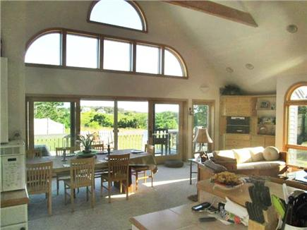 Truro Cape Cod vacation rental - View from Kitchen of the Marsh & Dunes