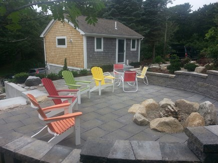 North Truro Cape Cod vacation rental - Fire pit, cottage