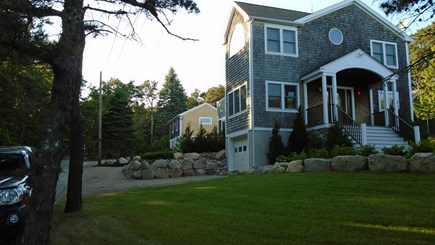 North Truro Cape Cod vacation rental - House from main road