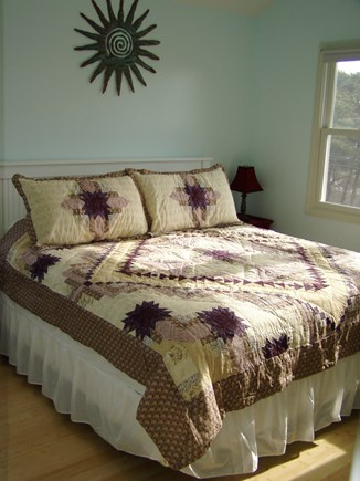 North Truro Cape Cod vacation rental - A look in the 3rd bedroom from the hall