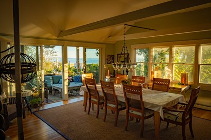 Provincetown Cape Cod vacation rental - Dining Room with expansive views of Cape Cod Bay