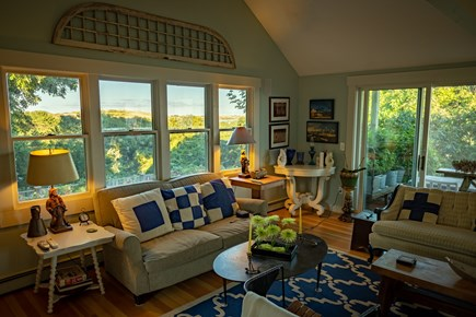 Provincetown Cape Cod vacation rental - Enjoy looking out toward the Provinceland Dunes