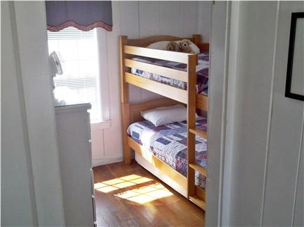 West Yarmouth Cape Cod vacation rental - Bedroom with bunkbeds & trundle sleeps 3