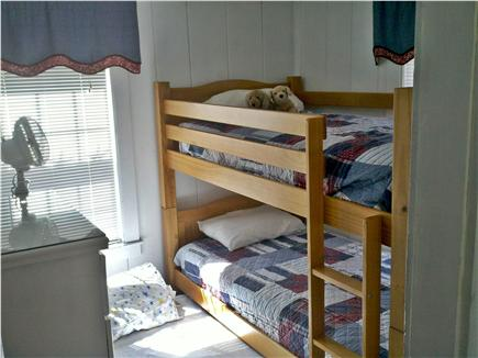 West Yarmouth Cape Cod vacation rental - Bunk beds with trundle out