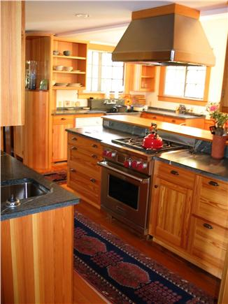 Woods Hole Woods Hole vacation rental - Renovated, eat-in kitchen, new Wolf stove, etc, interior area