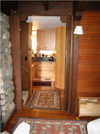 Woods Hole Woods Hole vacation rental - Entry to kitchen from living room area