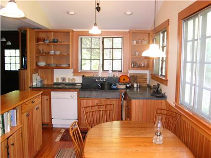 Woods Hole Woods Hole vacation rental - Renovated kitchen, rear area