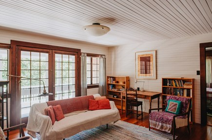 Woods Hole Woods Hole vacation rental - Upstairs library