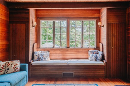 Woods Hole Woods Hole vacation rental - Built in window seat, craftsman style