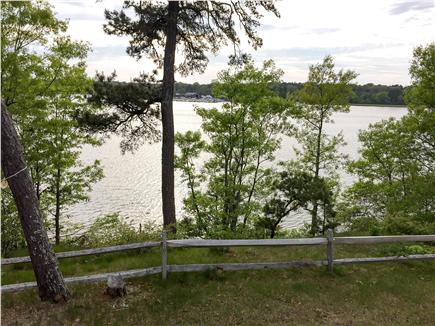 Dennis Cape Cod vacation rental - You can see Mayflower boatyard across the bay
