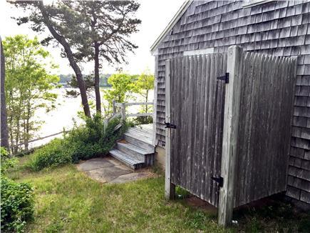 Dennis Cape Cod vacation rental - Outdoor shower