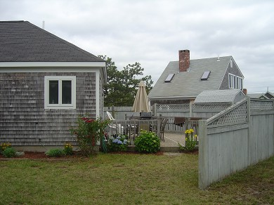 South Yarmouth Cape Cod vacation rental - Patio and side yard