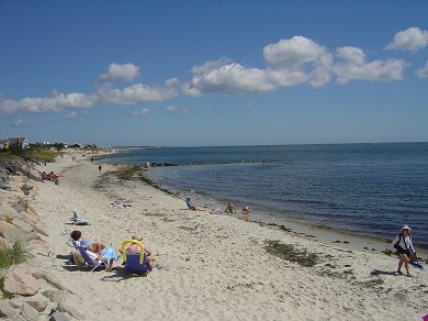 South Yarmouth Cape Cod vacation rental - Another view of the beach