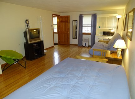 North Falmouth Cape Cod vacation rental - Lower level family room, 2 futon beds