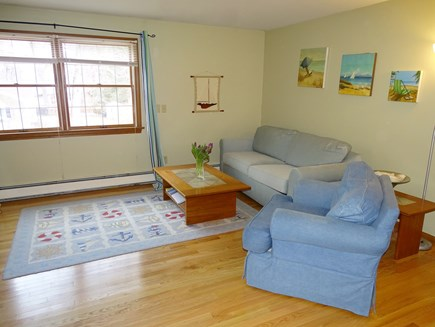 North Falmouth Cape Cod vacation rental - Open floor plan, living room to dining and kitchen