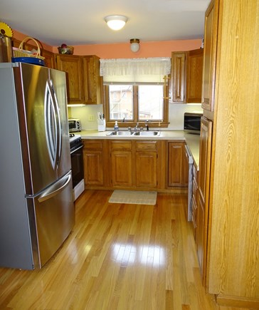 North Falmouth Cape Cod vacation rental - Kitchen with adjoining dining area