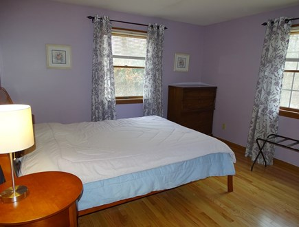 North Falmouth Cape Cod vacation rental - Master bedroom with queen bed