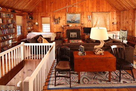 Chatham Cape Cod vacation rental - Second Floor Great Room (with four twin beds)