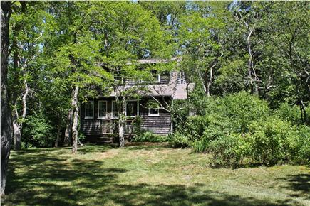 Wellfleet  Cape Cod vacation rental - The enclosed outside shower is on the right