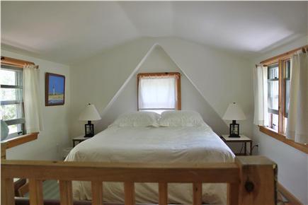 Wellfleet  Cape Cod vacation rental - Sleeping Loft with queen bed