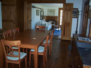 Chatham Cape Cod vacation rental - Partial View of Dining Room into Living Room