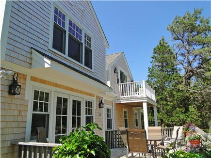 East Orleans Cape Cod vacation rental - House offers 2 large decks and a balcony off upstairs master