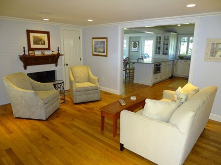 East Orleans Cape Cod vacation rental - Cozy sitting room with TV