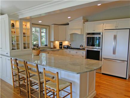 East Orleans Cape Cod vacation rental - Fully equipped kitchen with gas stove, two ovens, & warming oven