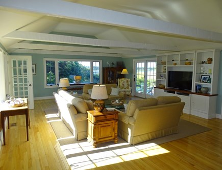 East Orleans Cape Cod vacation rental - Spacious, sunny living room