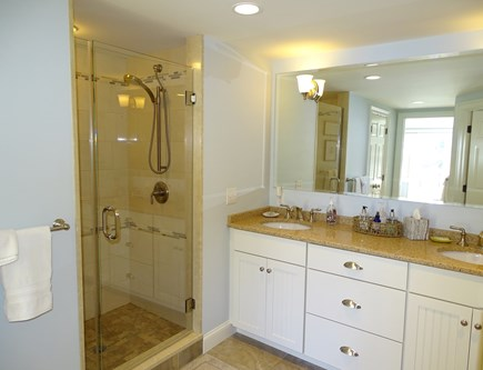 East Orleans Cape Cod vacation rental - Master bedroom bath