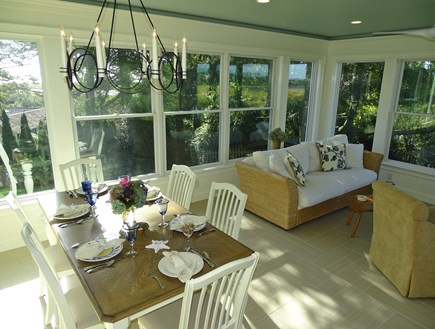 East Orleans Cape Cod vacation rental - Our new sunroom with lovely views
