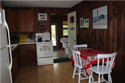 North Eastham Cape Cod vacation rental - Kitchen - leads to sun room
