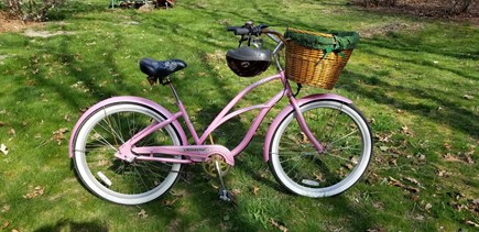 North Eastham Cape Cod vacation rental - Bring your bike! Best way to get around - & no parking fees!