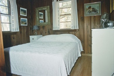 North Eastham Cape Cod vacation rental - Queen Bedroom. Ample closet space (not in picture)