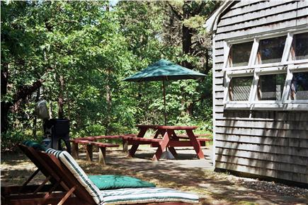 North Eastham Cape Cod vacation rental - Porch side door access