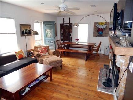 Provincetown, West End Cape Cod vacation rental - Living/Dining Area
