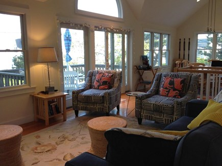 Provincetown, East End Cape Cod vacation rental - Fabulous extensive view of the bay including the lighthouse