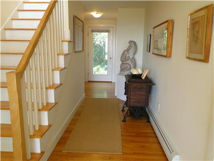 Provincetown Cape Cod vacation rental - Entrance Hall with local artwork