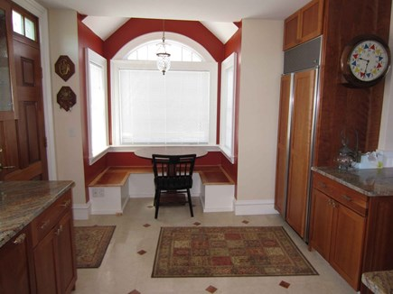 East Dennis Cape Cod vacation rental - Enter the front to the dining area of kitchen